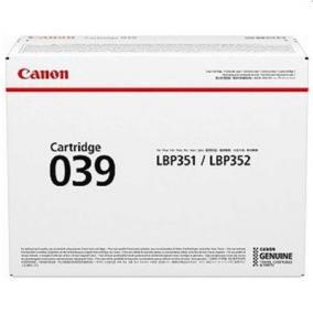 Canon CRG 039 toner [11K] (eredeti, új)