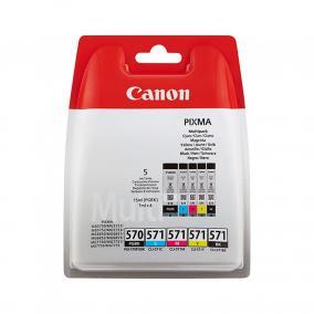Canon CLI-571 + PGI-570 [CMYBK+BK] (Multipack) tintapatron (eredeti, új)