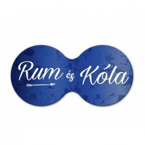 Cheers dupla poháralátét UX Rum és Cola parafa