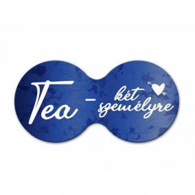 Cheers dupla poháralátét UX Tea - két személyre parafa