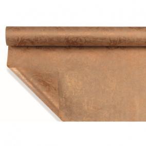 Csomagoló papír vízálló virágmintás 1m x 25m bronz