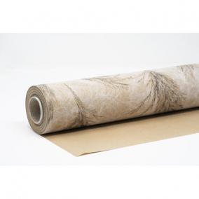 Csomagolópapír vízálló pampa mintás papír 750mm x 25m bézs, fekete