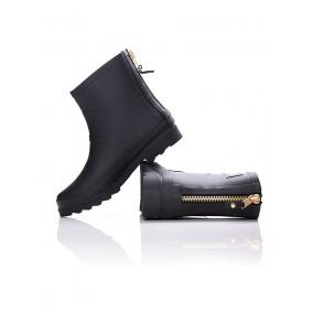 Dorko Black Color Ankle Boot With Zipper [méret: 40]