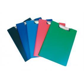 Felírótábla, fedeles, A4, zsebes, DONAU, kék