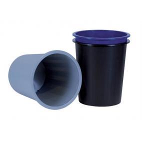 Papírkosár, 14 liter, DONAU, fekete