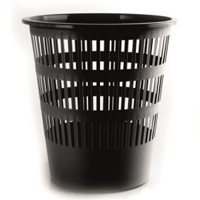 Papírkosár, 12 liter, DONAU, fekete
