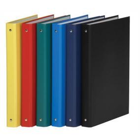Gyűrűs könyv, 4 gyűrű, 35 mm, A4, PP/karton, DONAU, zöld