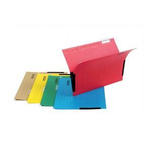 Függőmappa, oldalvédelemmel, karton, A4, DONAU, piros [25 db]