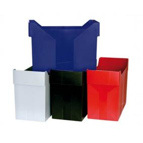 Függőmappa tároló, műanyag, DONAU, piros