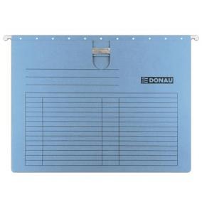 Függőmappa, gyorsfűzős, karton, A4, DONAU, kék [25 db]