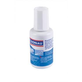 Hibajavító folyadék, vízbázisú, szivacsos, 20 ml, DONAU