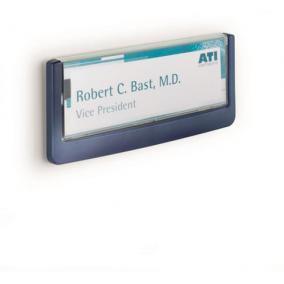 Információs tábla, 149x52,5 mm, DURABLE