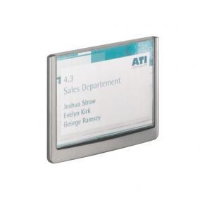 Információs tábla, 149x105,5 mm, DURABLE