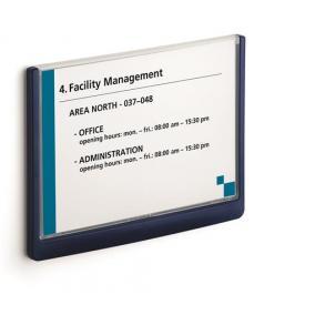 Információs tábla, 148,5x210 mm, DURABLE