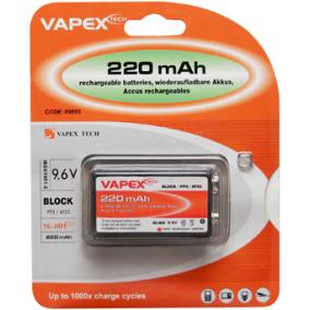 VAPEX 1VTE220PP3 PP3 akkumlátor