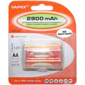 VAPEX 2VTE 2900mAh 2db AA akkumlátor
