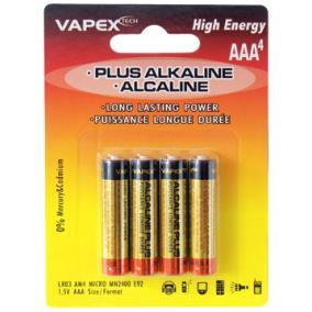 VAPEX AAA PLUS Alkaline 4db tartóselem