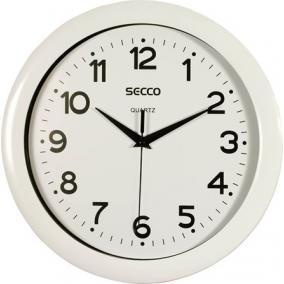 Falióra, 30 cm, SECCO, fehér
