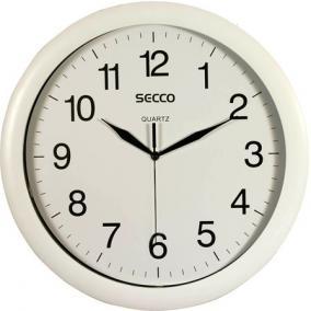 Falióra, 32 cm, SECCO, fehér