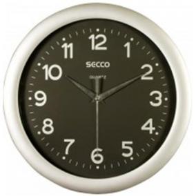 Falióra, 30 cm, fekete számlap, SECCO