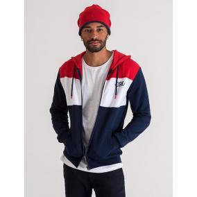 Dorko Tricolor Zipped Hoodie Men [méret: S]