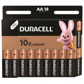 Elem, AA ceruza, 18 db, DURACELL