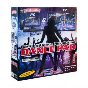 Dance Revolution táncszőnyeg, PC-re és TV-re csatlakoztatható
