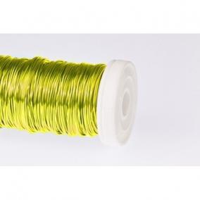 Dekordrót sima 0,3 (100 g) Sárga
