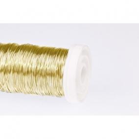 Dekordrót sima 0,3 mm arany 25 gr