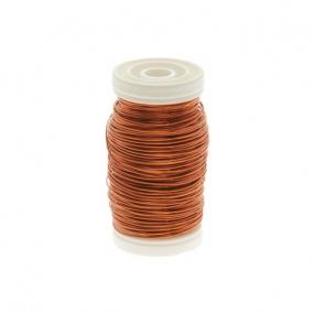 Dekordrót sima 0,5mm Narancs 100gr