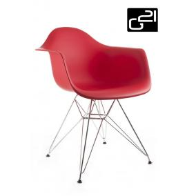 Design szék G21 Decore Red