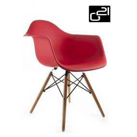 Design szék G21 Lumber Red