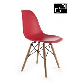 Design szék G21 Timber Red