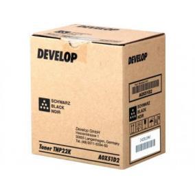 Develop Ineo+ 35 [TNP-22 Bk] toner (eredeti, új)