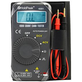Digitális multiméter HOLDPEAK 4201