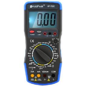 Digitális multiméter HOLDPEAK 760C