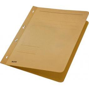 Gyorsfűző, lefűzhető, karton, A4, LEITZ, natúr [50 db]
