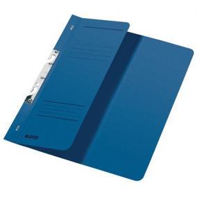 Gyorsfűző, lefűzhető, karton, A4 feles, LEITZ, kék [50 db]