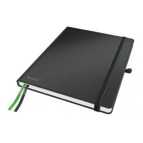 Jegyzetfüzet, exkluzív, iPad méret, kockás, 80 lap, keményfedeles, LEITZ