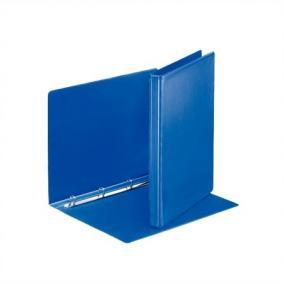 Gyűrűs könyv, panorámás, 4 gyűrű, 25 mm, A4, PP, ESSELTE, kék