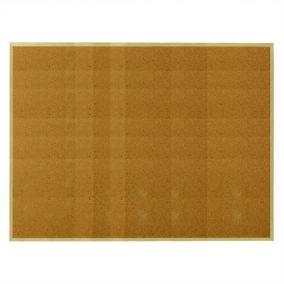 Parafatábla, 90x120 cm, fa keret, ESSELTE