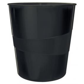 Papírkosár, 15 liter, LEITZ