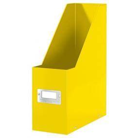 Iratpapucs, PP/karton, 95 mm, lakkfényű, LEITZ