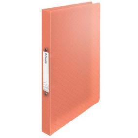 Gyűrűs könyv, 2 gyűrű, 25 mm, A4, PP, ESSELTE