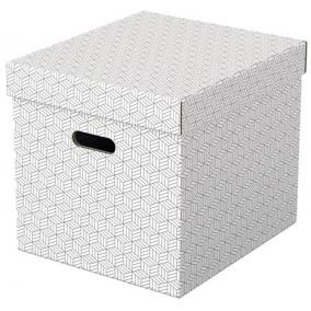 Tárolódoboz, kocka alakú, ESSELTE