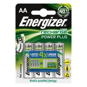 Tölthető elem, AA ceruza, 4x2000 mAh, ENERGIZER Power Plus