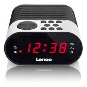 ébresztőórás rádió - Lenco, CR-07 WHITE