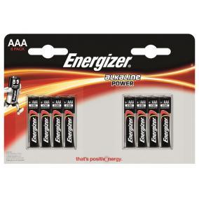 Elem, AAA mikro, 8 db, ENERGIZER