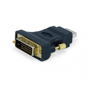Adapter, HDMI-DVI (F/M) átalakító, EQUIP