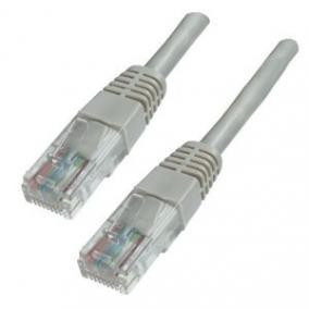 Hálózati kábel, U/UTP, CAT6, 7,5 m, EQUIP, bézs